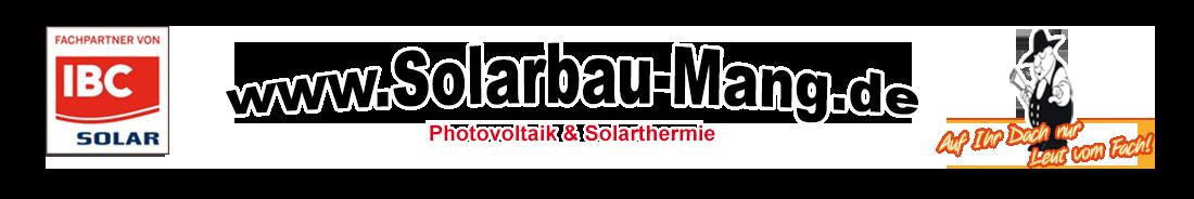 Solarbau Mang
